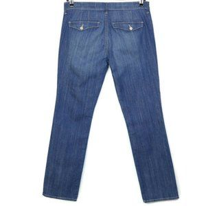 Old Navy Diva Straight Jeans Low Rise 10 x 32 Reg